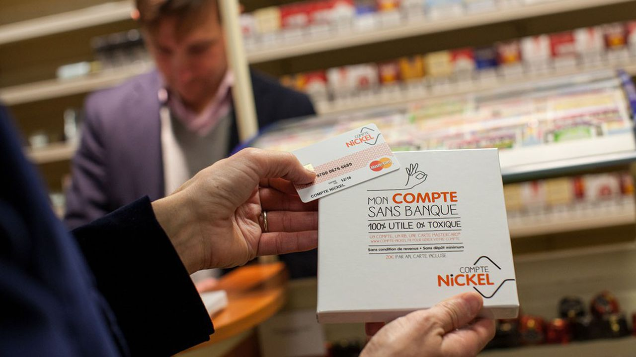 Lancée en 2014, la néobanque Nickel compte désormais 1,7million de clients.