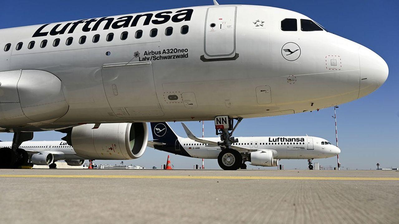 D'ici à la fin de l'année, Lufthansa ne prévoit d'utiliser que 25% des capacités mobilisées il y a un an.