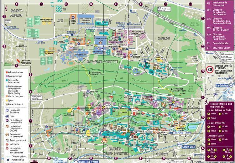 Plan de Paris-Saclay, du plateau à la vallée.
