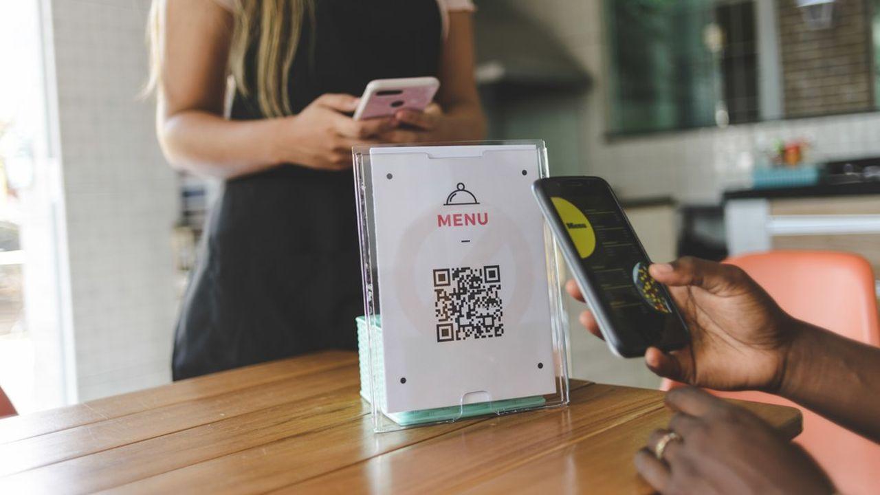 30% des restaurants français ont mis à disposition un menu numérique grâce à unQRCode.