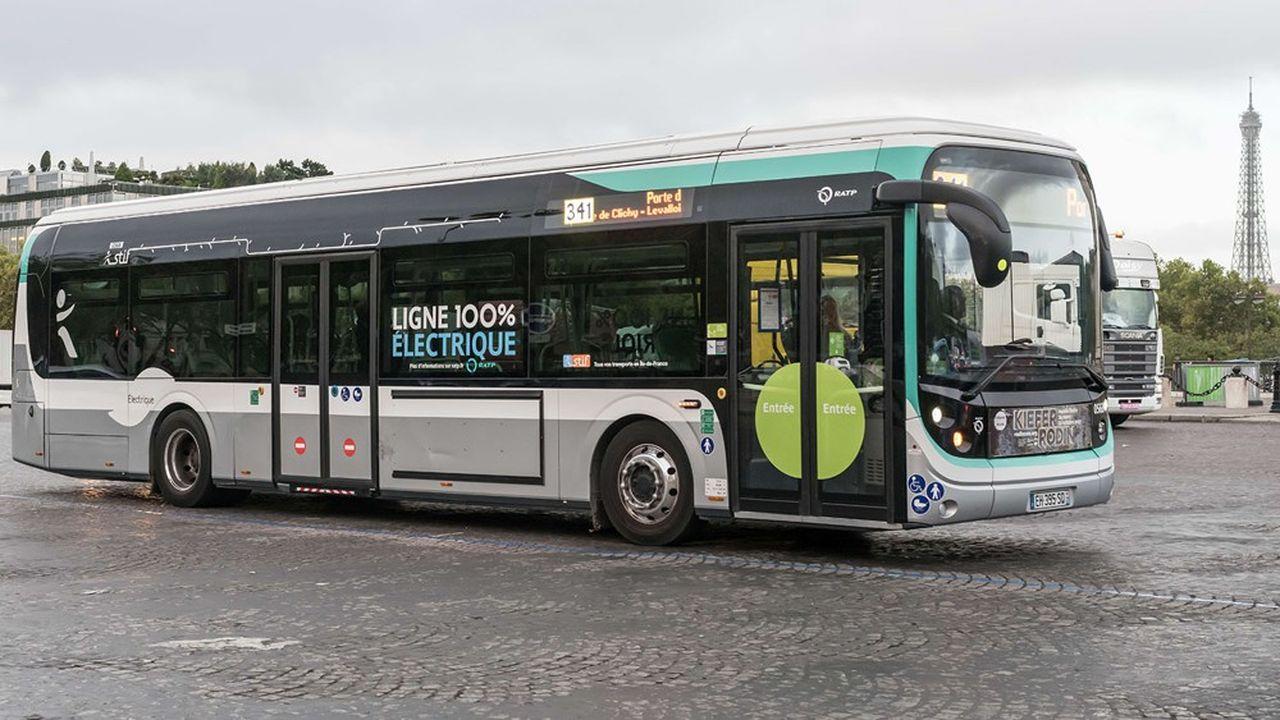 Actuellement, la flotte de la RATP compte 4.700bus, dont 1.100hybrides diesel et électriques, 142modèles tout-électriques et 240 fonctionnant au GNV (biogaz).