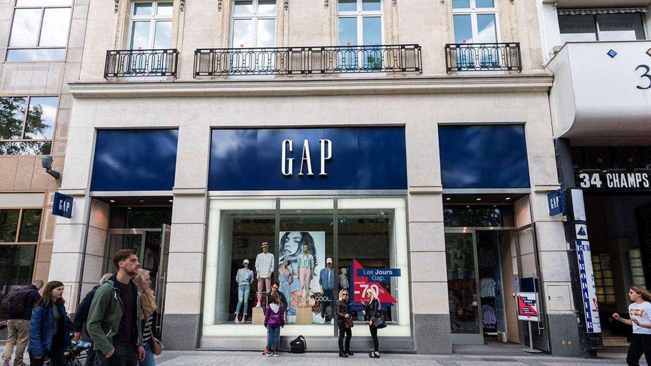 Vers la fermeture des magasins Gap dans toute l'Europe
