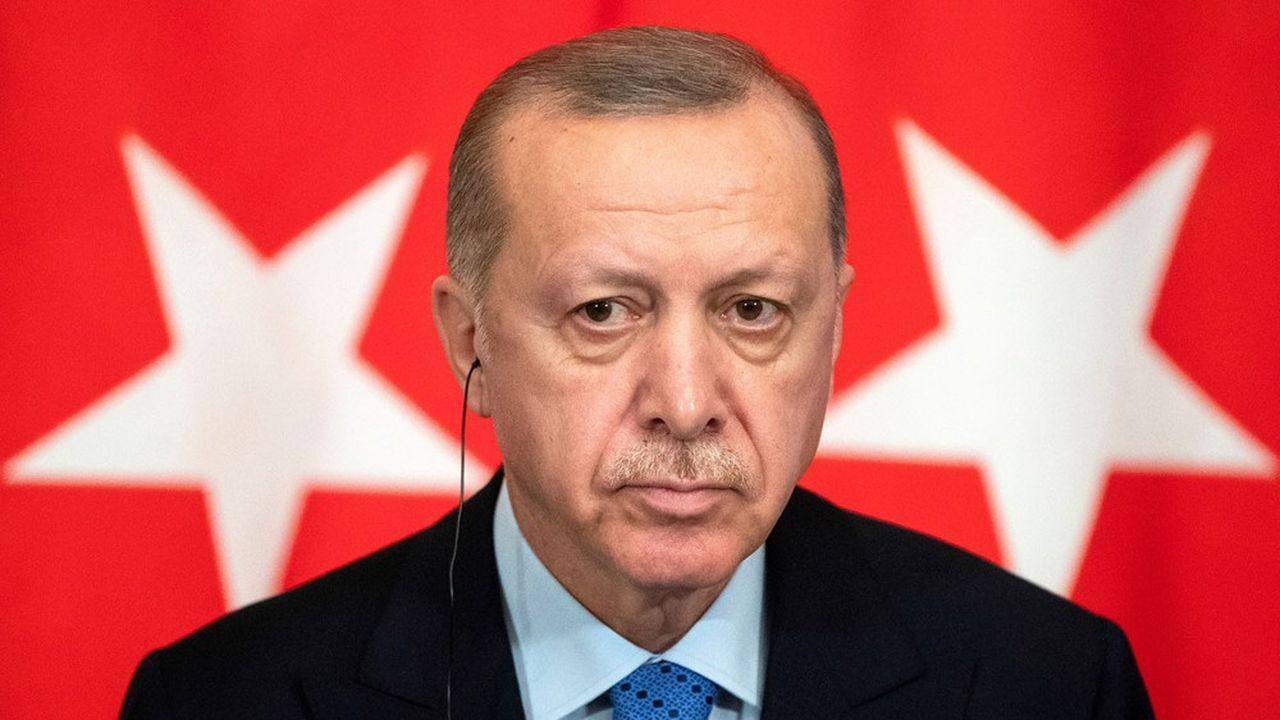 Le président turc, Recep Tayyip Erdogan, mène une politique étrangère très offensive.