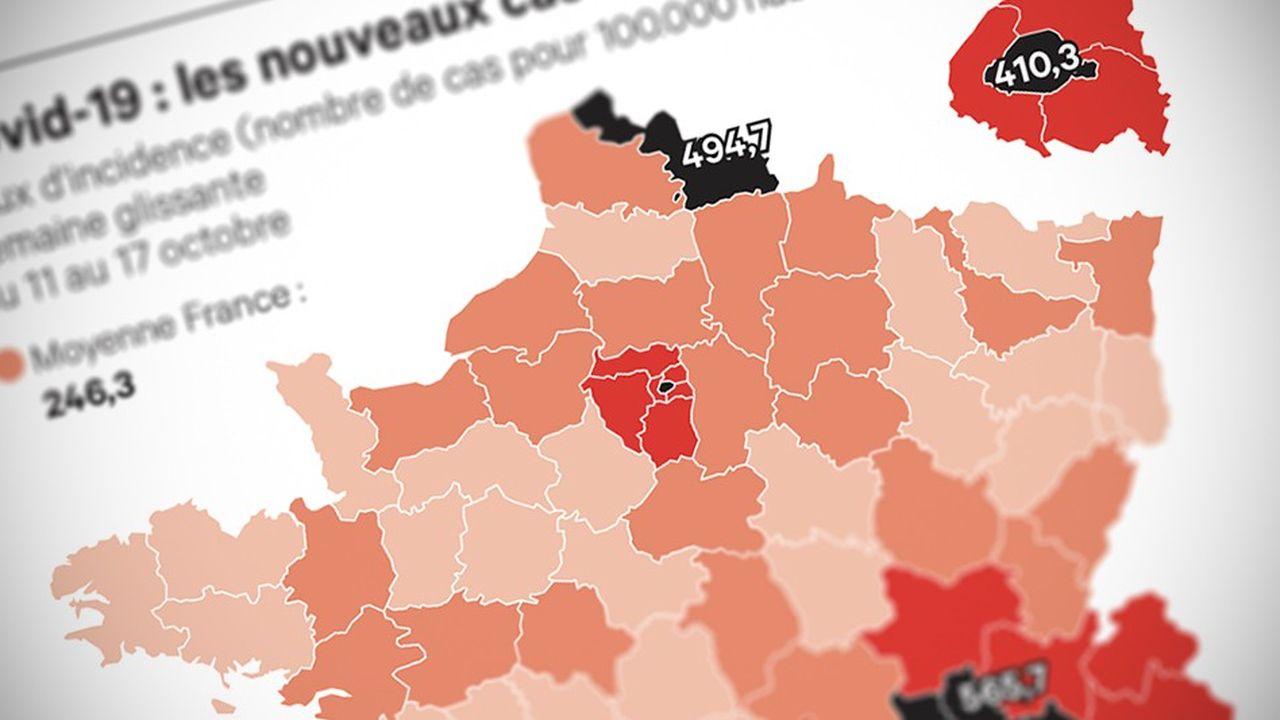 L'épidémie de coronavirus s'étend y compris dans des départements ruraux.