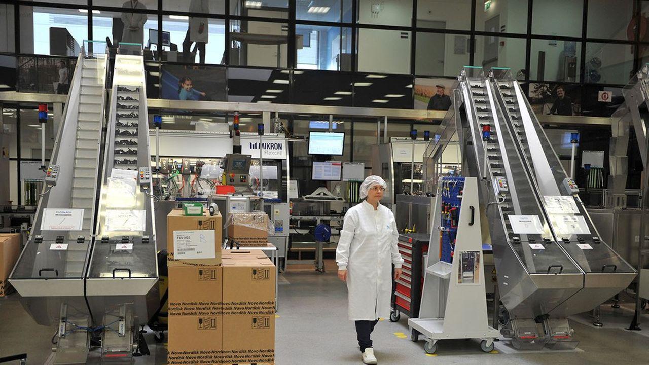L'usine de production d'insuline de Novo Nordisk à Chartres est le premier employeur local.