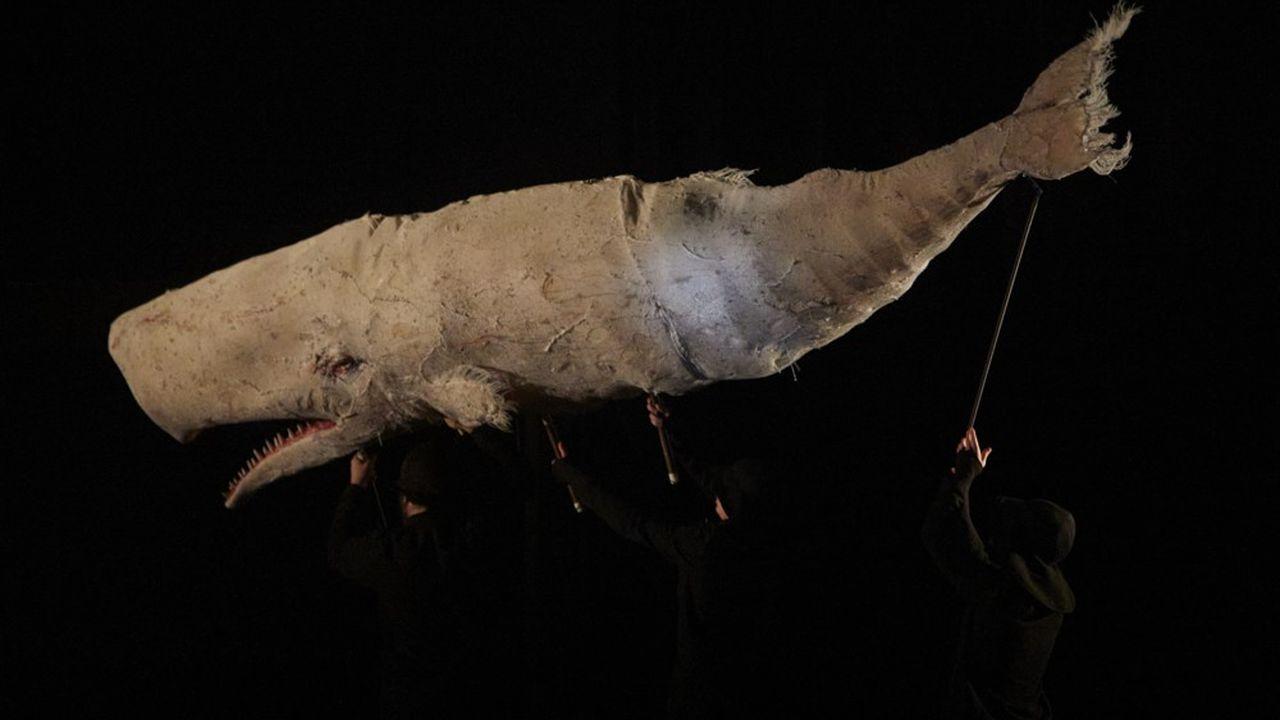 «Moby Dick», version théâtre de marionnettes, mis en scène par Yngvild Aspeli, se jouera du 27 au 31octobre à la Chartreuse-CNES de Villeneuve-lès-Avignon.