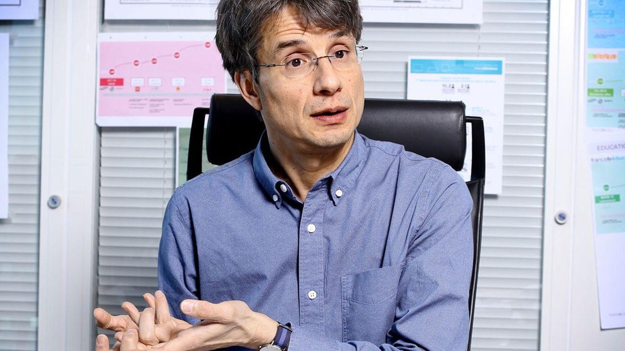 Bruno Patino, président d'Arte France et futur président d'Arte GEIE à partir de janvier 2021.