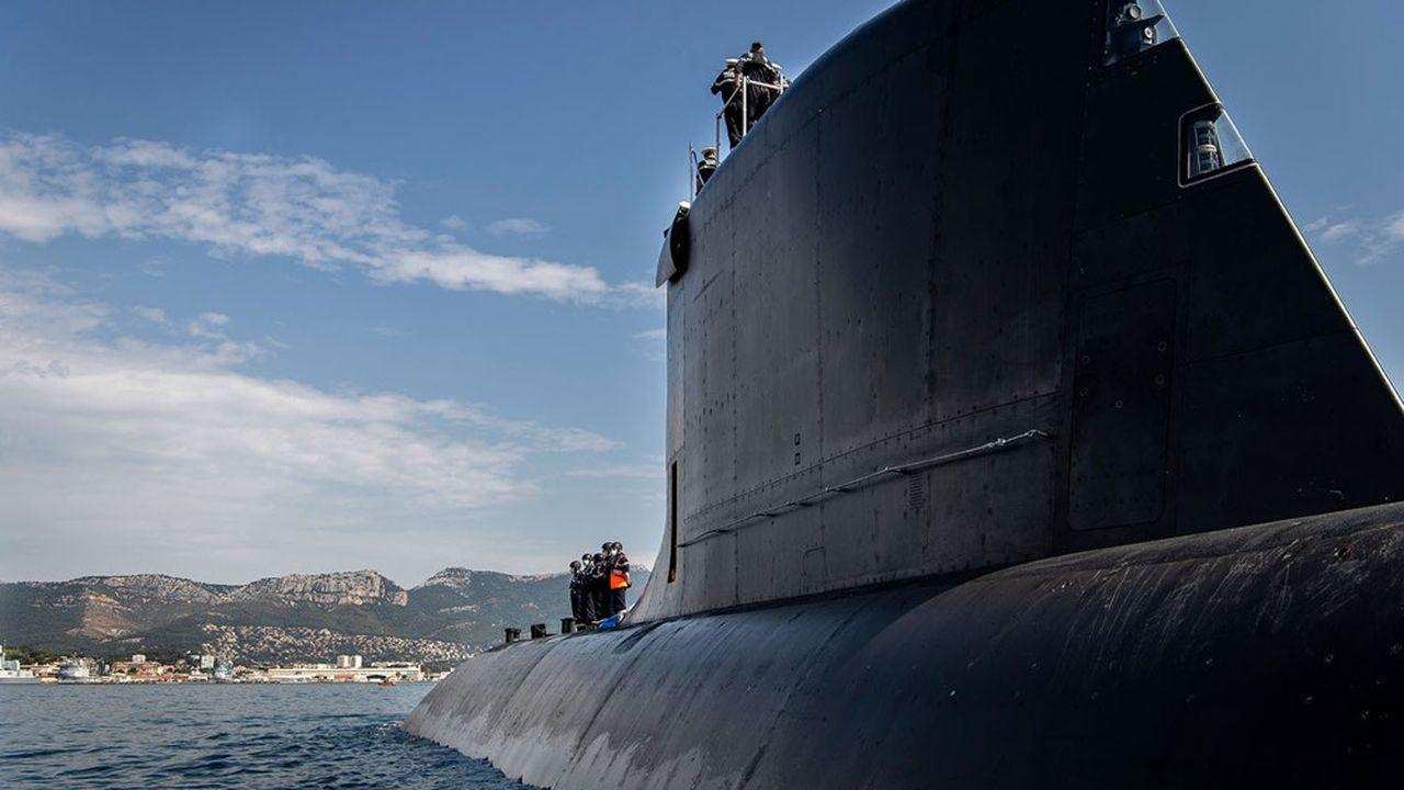 Le nouveau sous-marin de la marine, le Suffren, le premier de la classe des Baraccuda, fait ses essais depuis l'été dernier.