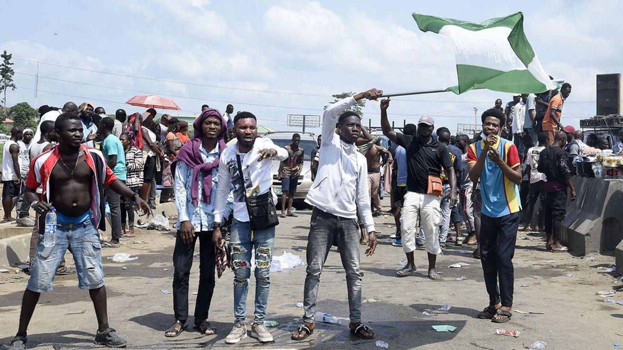 Les manifestations ne faiblissent pas au Nigéria.