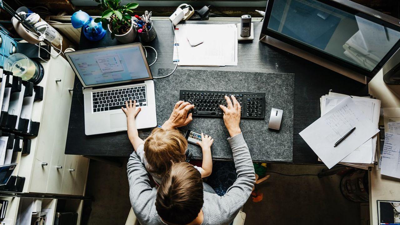 Télétravailler, c'est accepter l'idée que débarque dans votre univers personnel une partie de l'univers du bureau.