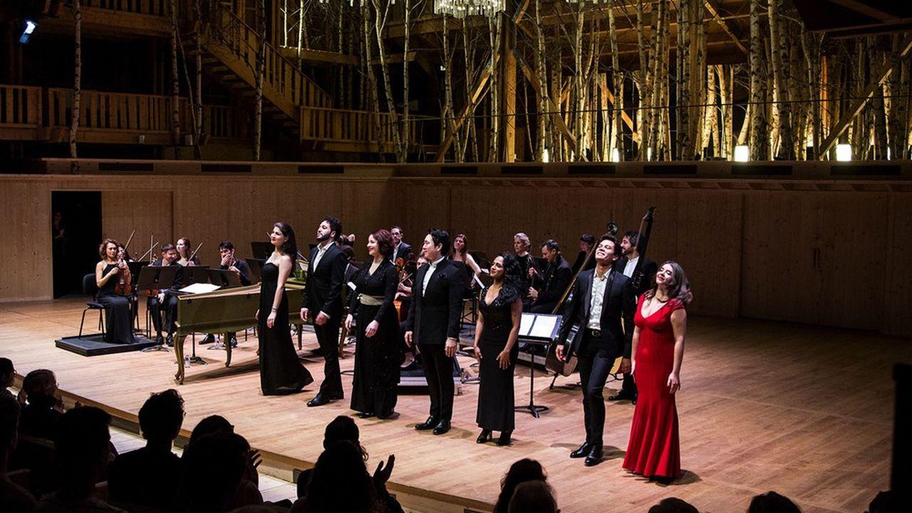 L'Académie de l'Opéra National de Paris donne de la voix à la Grange au Lac