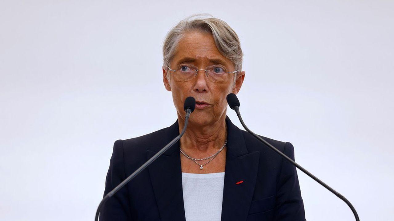 Elisabeth Borne.