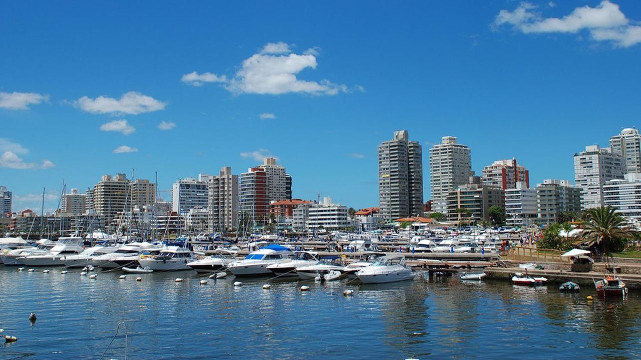 Ce sont les pays d'Amérique latine, comme ici l'Uruguay, qui ont le plus souffert d'une perte de richesse pour les ménages.