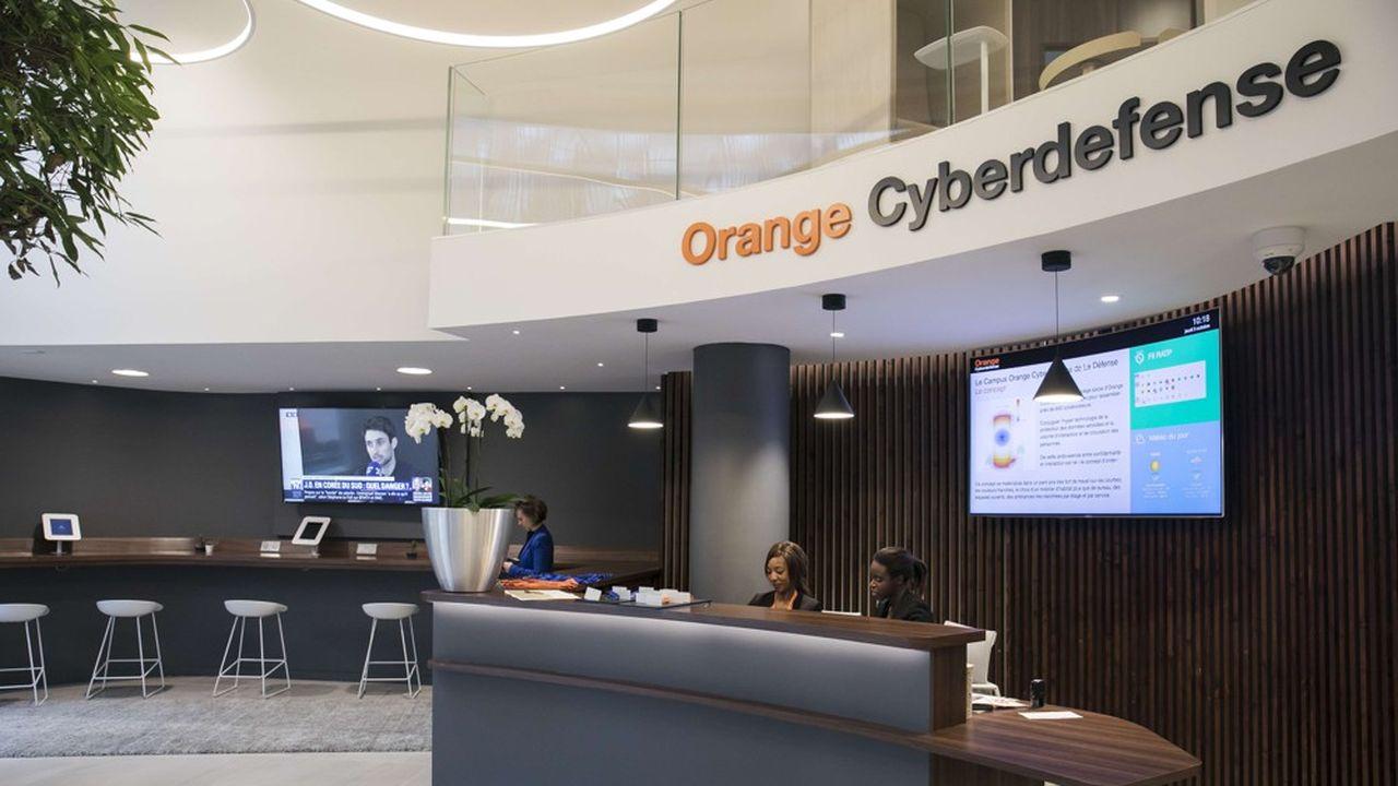 En2019, Orange Cyberdefense a réalisé 700millions d'euros de chiffre d'affaires, soit 1,6% du total.