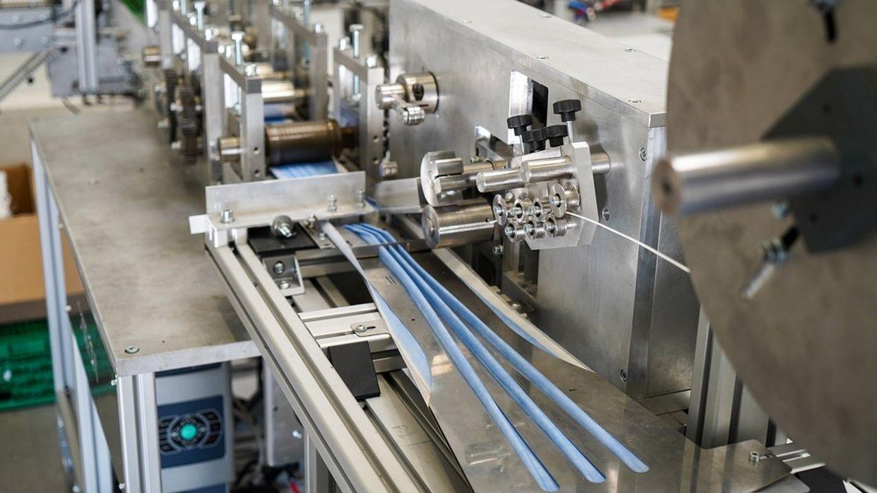 Le prix des machines oscille entre 120 et 200.000 euros.