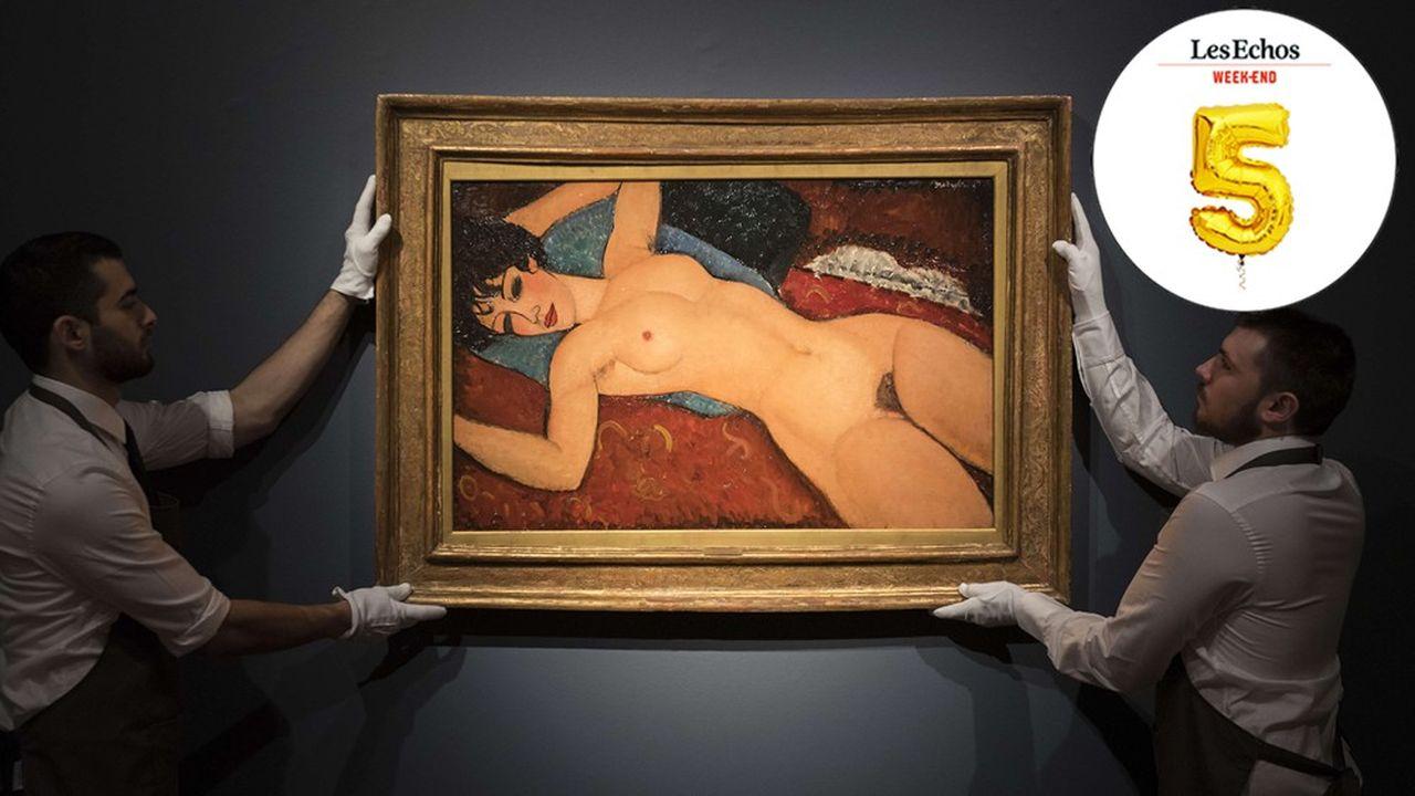 « Nu couché » de Modigliani