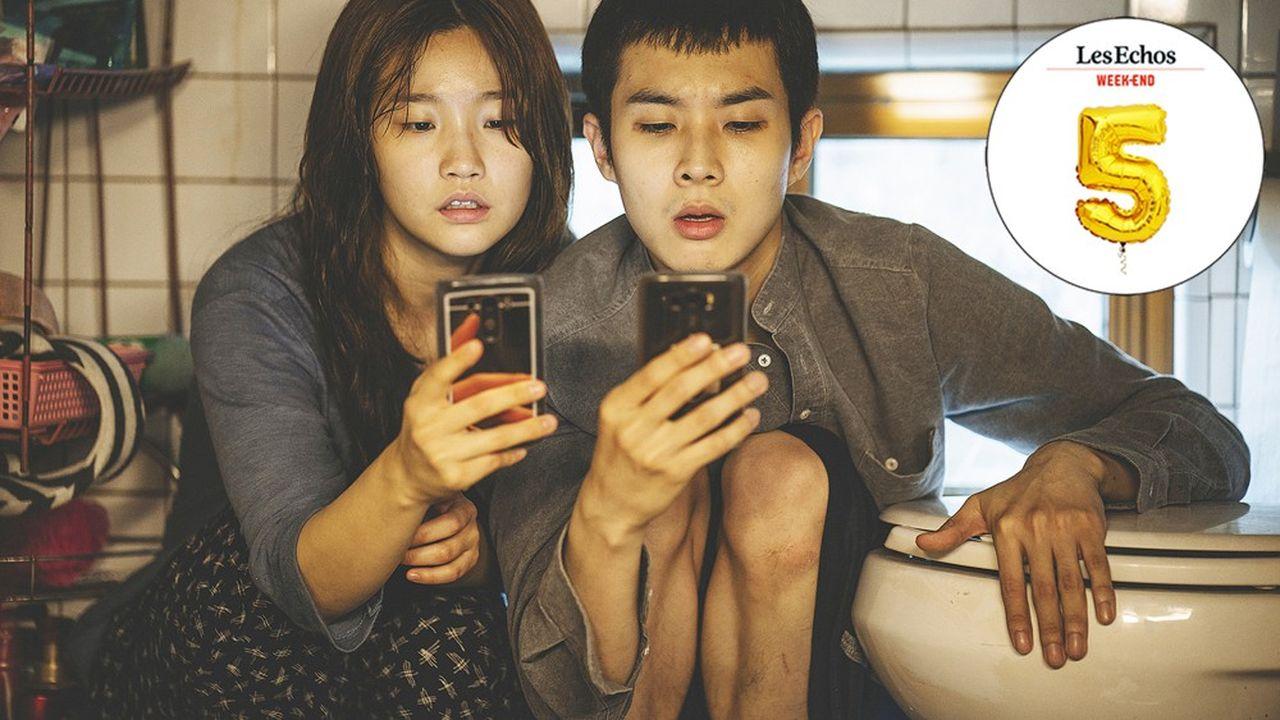 Photo du film 'Parasite' de Bong Joon Ho