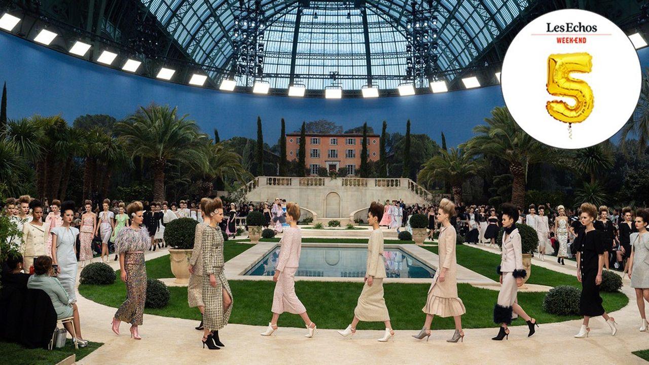 Le 22 janvier 2019 à Paris, au défilé Chanel.