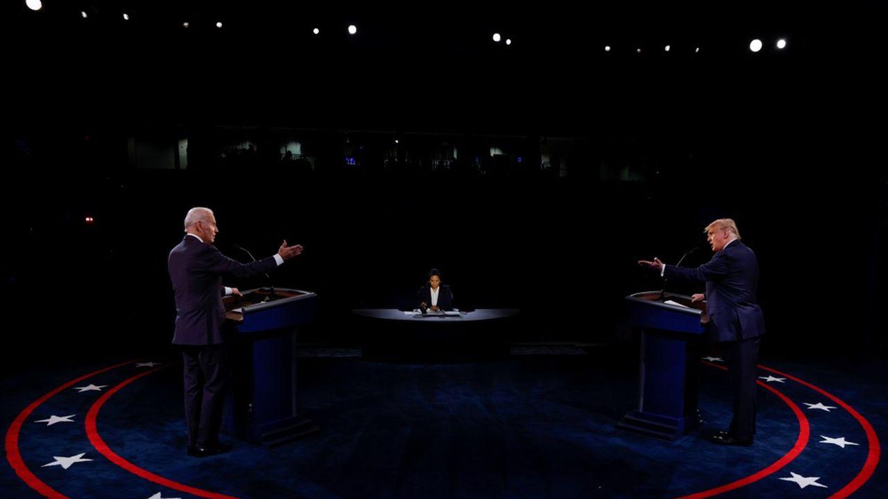 Les deux candidats à l'élection présidentielle se sont retrouvés jeudi soir à Nashville pour le dernier débat de la campagne électorale, à douze jours de l'élection. Dans une atmosphère plus respectueuse que lors du premier débat fin septembre, ils ont présen…