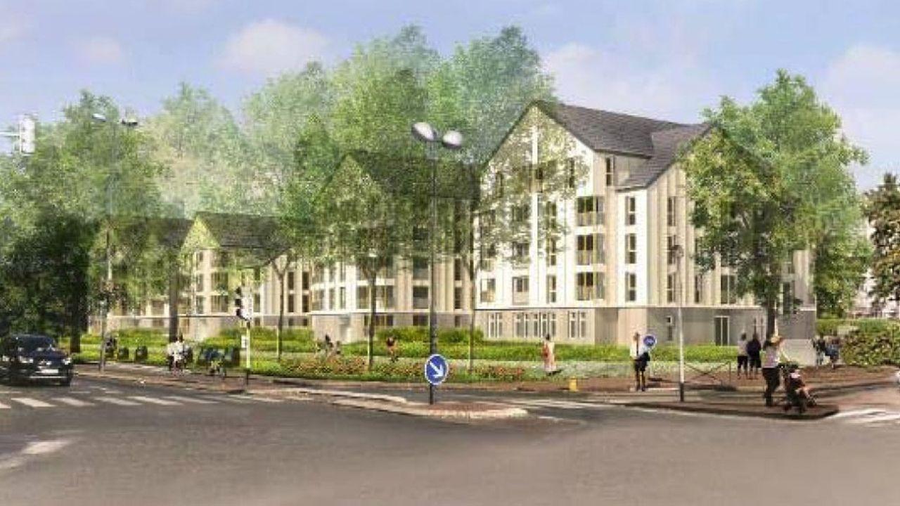 Pour la première fois, à Saint-Leu-la-Forêt, Immobilière 3F lance un programme de construction en béton bas carbone