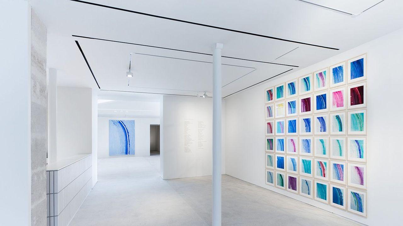 Günther Uecker à la galerie Lévy Gorvy.