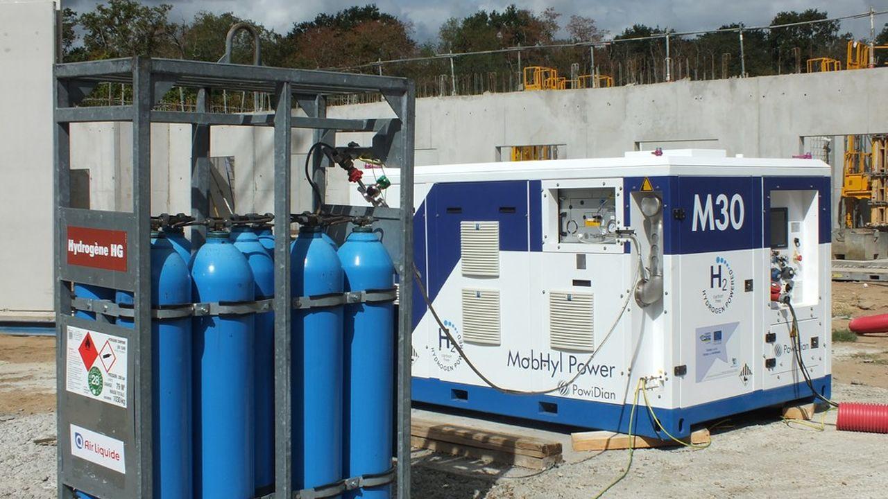Bouygues Construction mise sur PowiDian pour sa pile à hydrogène mobile