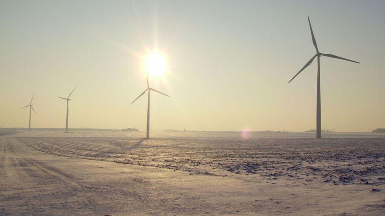 8.000 éoliennes sont actuellement en service dans l'Hexagone.