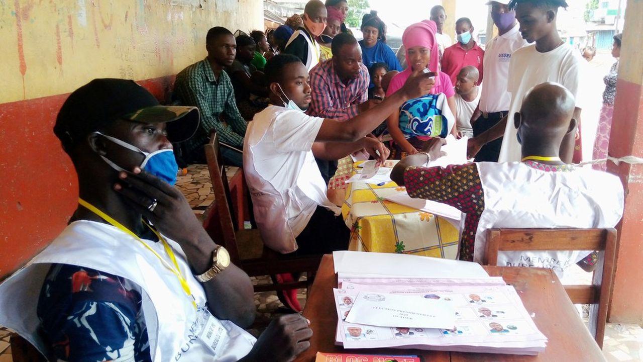 Plus de 5millions d'électeurs étaient appelés aux urnes en Guinée-Conakry.
