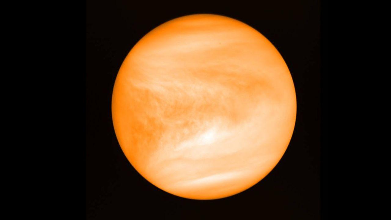 De nouvelles mesures scientifiques, faites sur une autre gamme de longueurs d'onde, n'ont pas trouvé trace de phosphine dans la couverture nuageuse de Vénus.