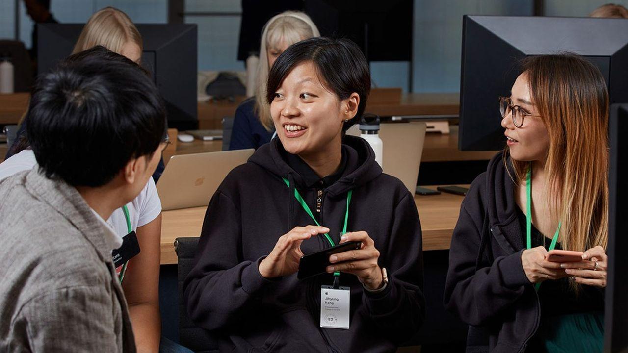 Lors du Apple Entrepreneur Camp, les fondatrices sont épaulées par les ingénieurs d'Apple.