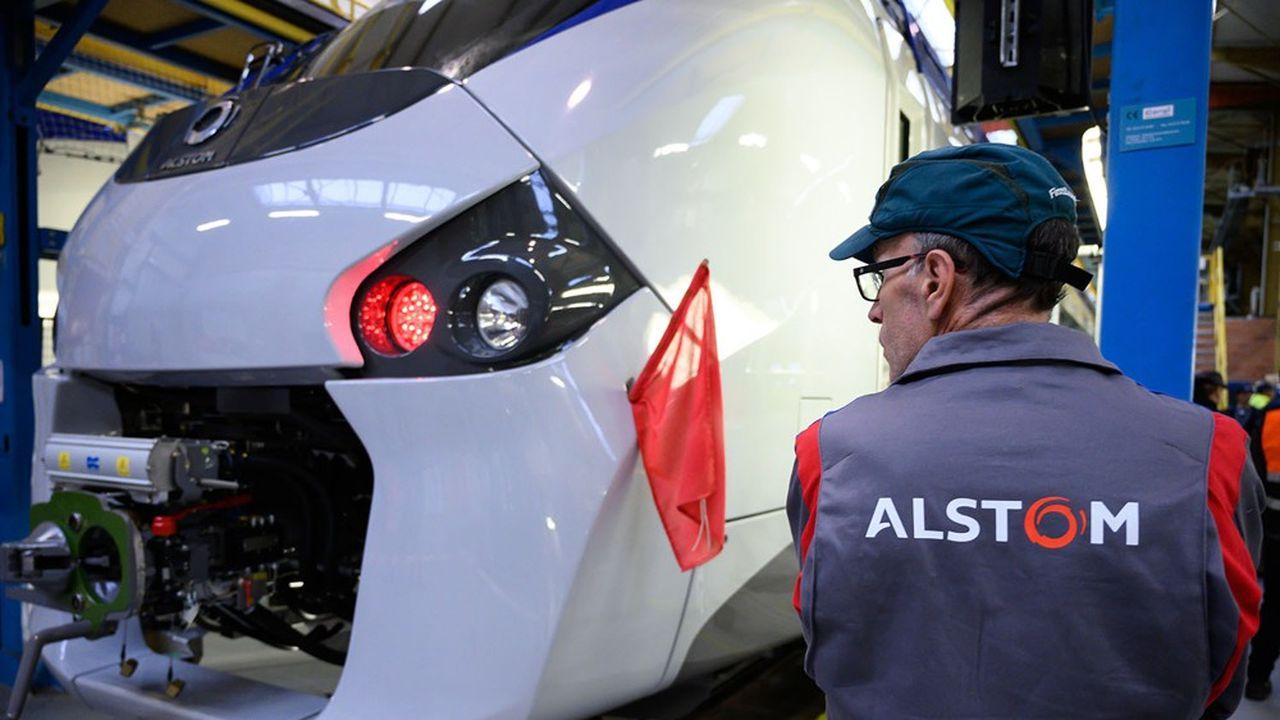 L'usine Alstom de Reichshoffen, aujourd'hui à vendre, a participé au programme de rénovation du RERB francilien.