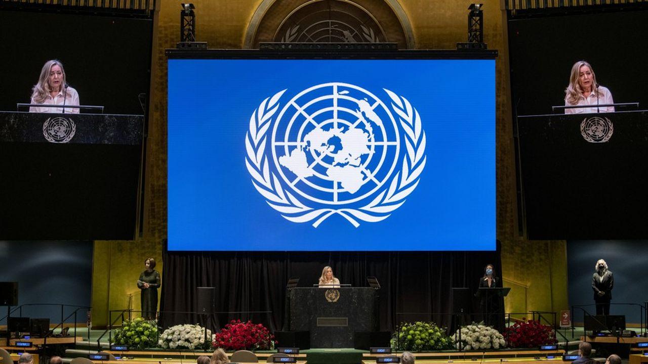 La «Journée des Nations Unies» a été célébrée cette année par la projection dans la salle de l'Assemblée Générale à New York d'un concert pré-enregistré de l'orchestre du Teatro alla Scala.