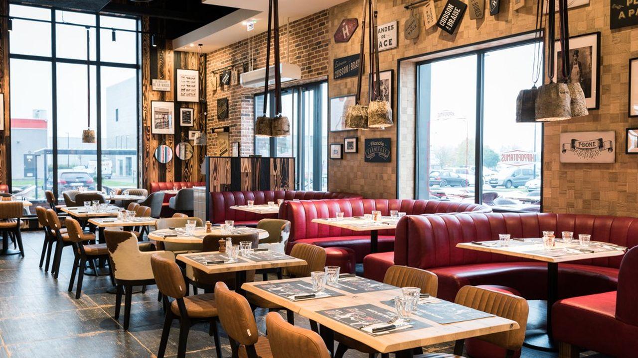 Des centres-villes à la périphérie comme ici à Seclin, le concept de steak house à la française sera décliné dans 47 établissements à la fin de l'année.