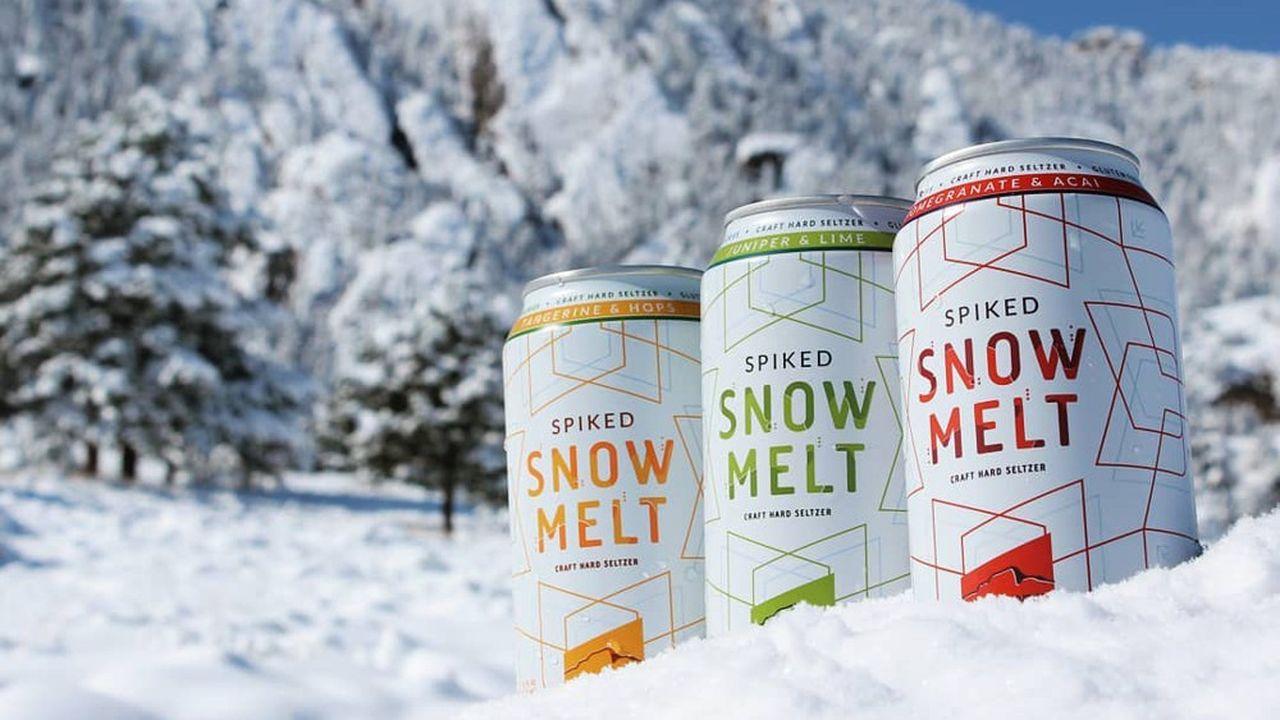 Snowmelt est fabriquée dans le Colorado par la brasserie craft Upslope. «L'abus d'alcool est dangereux pour la santé. A consommer avec modération.»