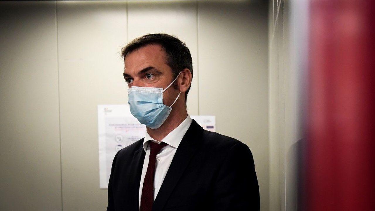 Le ministre de la Santé était en visite à Marseille ce samedi, en compagnie du Premier ministre Jean Castex.