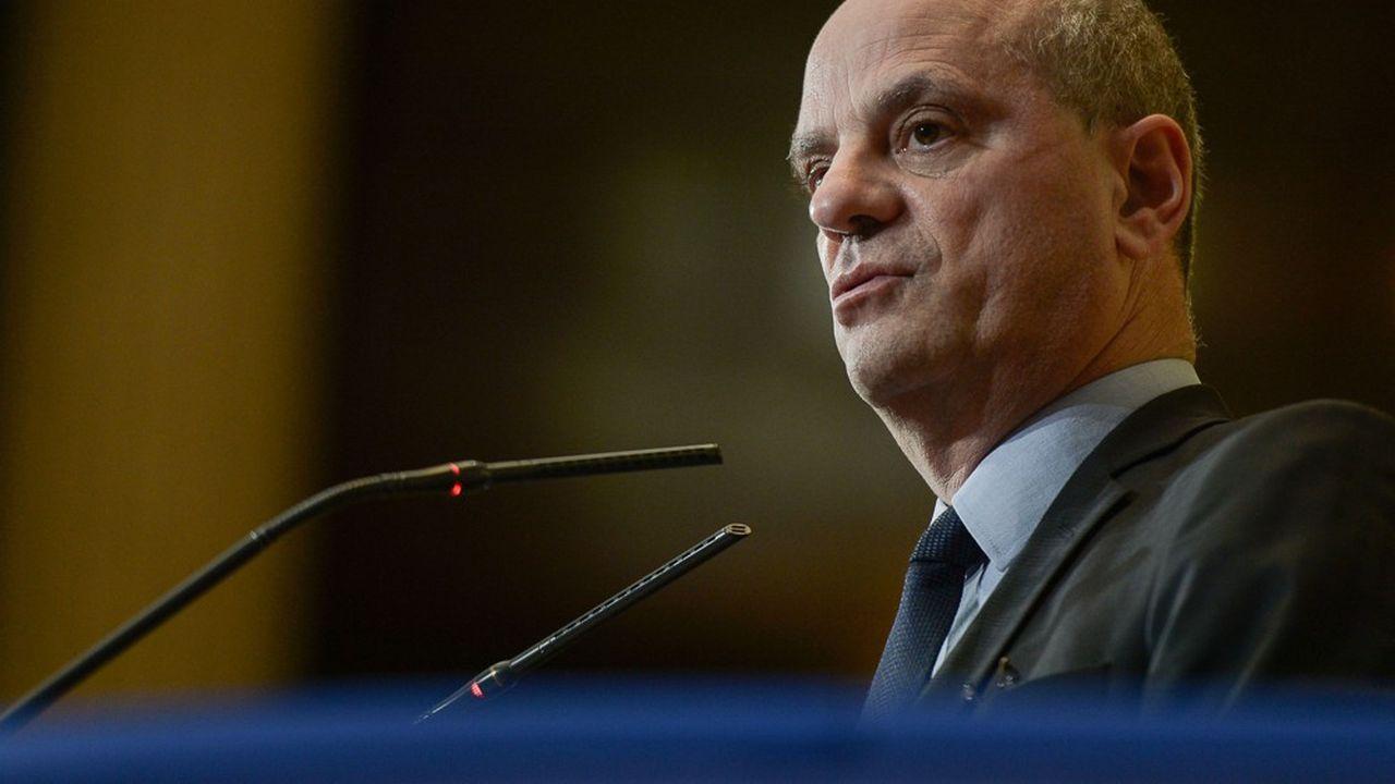 Jean-Michel Blanquer, ministre de l'Education Nationale, de la Jeunesse et des Sports.