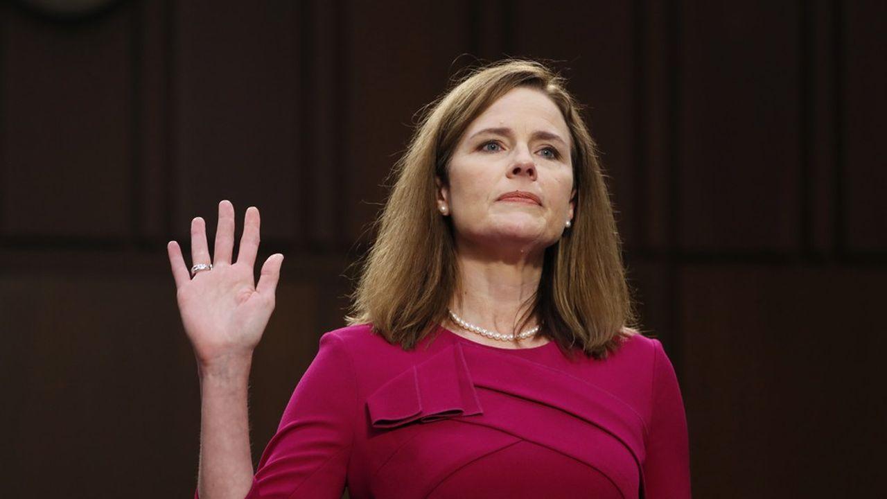 La nomination d'Amy Coney Barrett à la Cour suprême a été beaucoup commentée aux Etats-Unis.