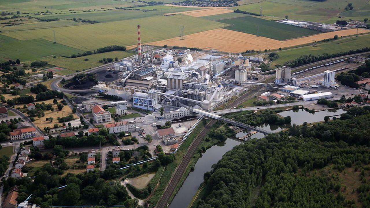 Jusqu'en2015, le charbon constituait l'unique source d'approvisionnement de la soudière Novacarb, implantée à Laneuveville-devant-Nancy.