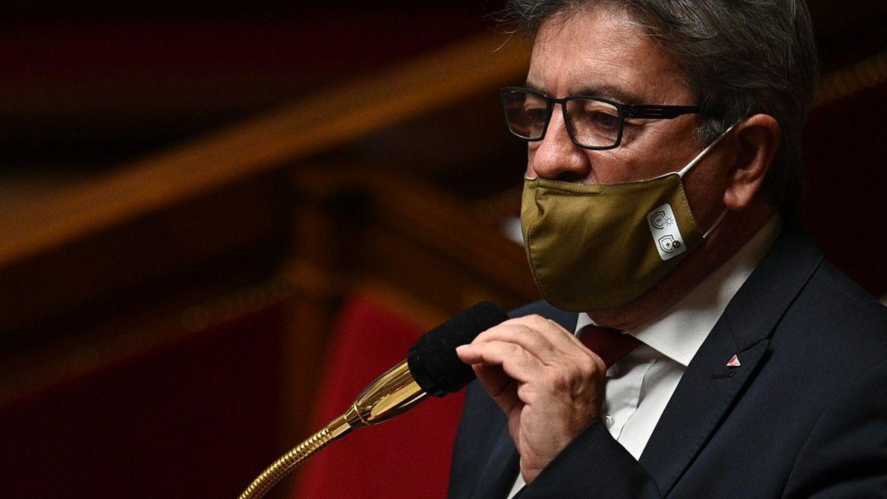 Jean-Luc Mélenchon à l'Assemblée, le 20octobre dernier.