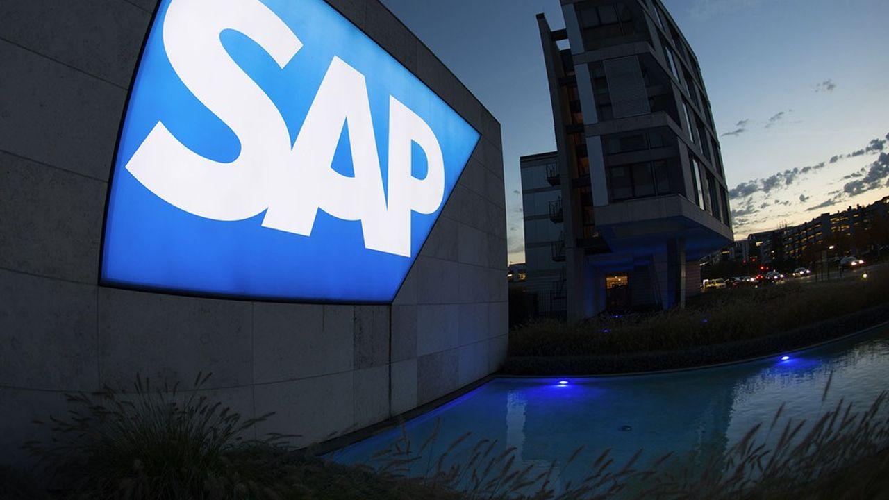 SAP, l'une des plus fortes valeurs de laBourse de Francfort, a perdu lundi30milliards d'euros de capitalisation.