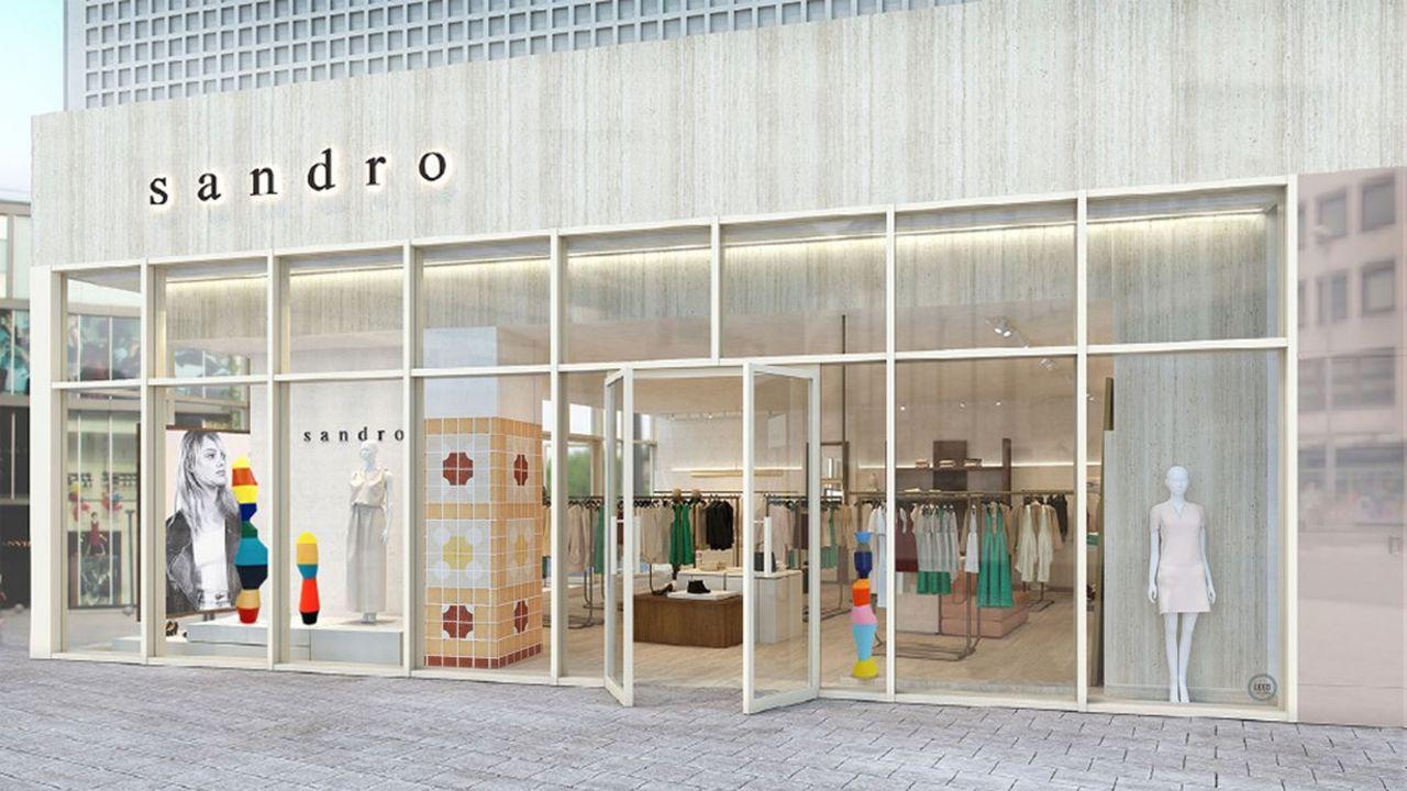 Ce magasin à Beijing a adopté le nouveau concept «green store» du groupe, avec notamment l'utilisation d'éclairages basse consommation.