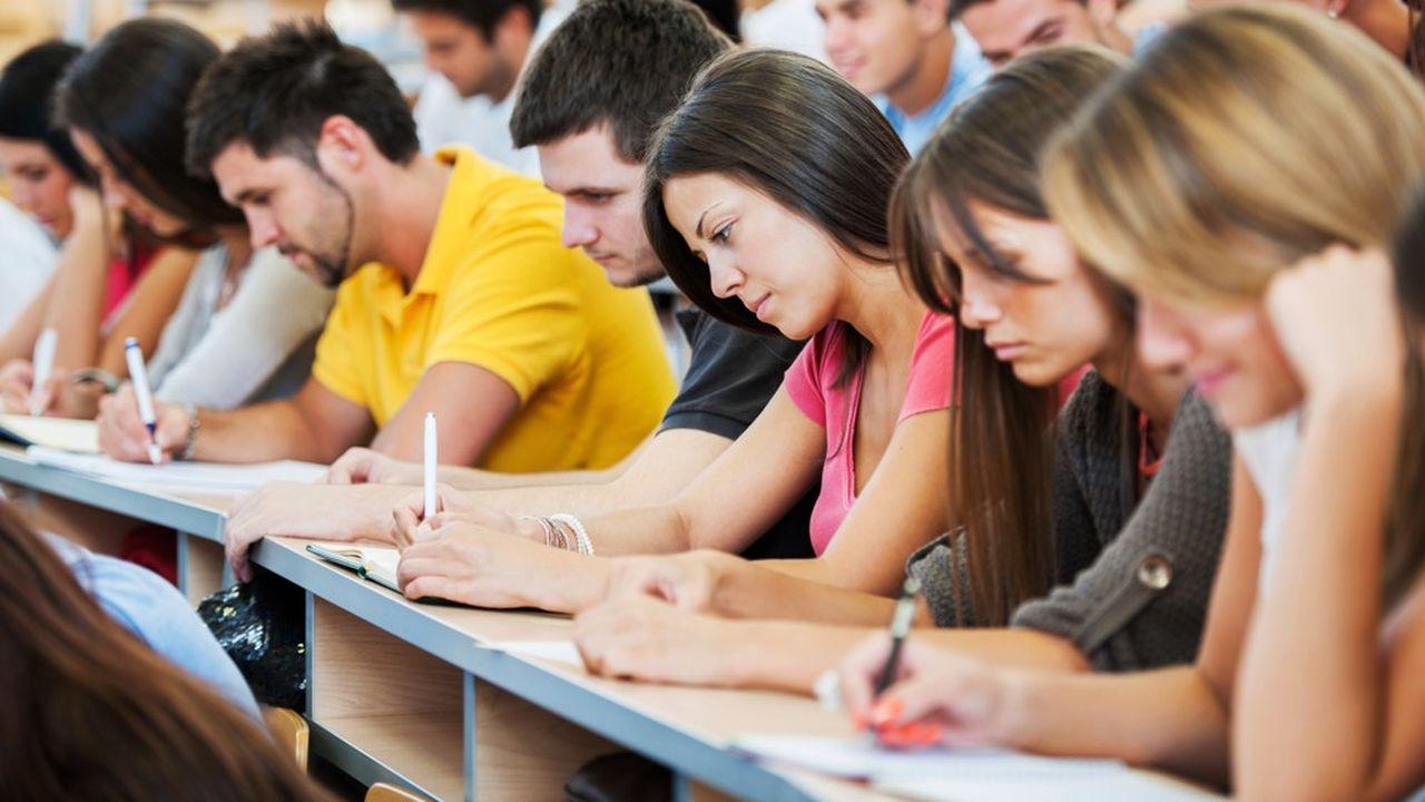 Le nombre d'étudiants dans l'enseignement supérieur progresse pour la douzième année consécutive.