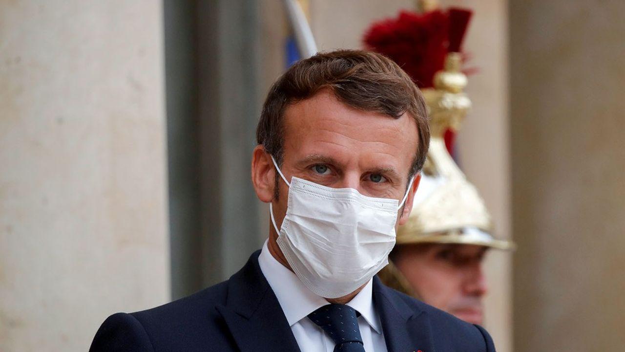 «Emmanuel Macron doit reprendre la main dans la communication car la situation sanitaire devient incontrôlable», explique un conseiller de l'exécutif.