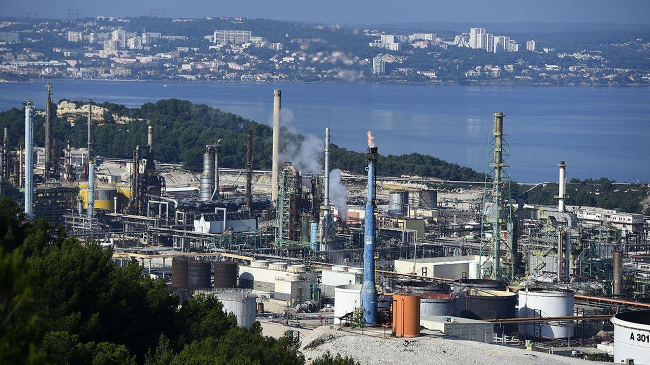 La reconversion de la raffinerie de Total à La Mède, près de Marseille, a coûté 275millions d'euros.