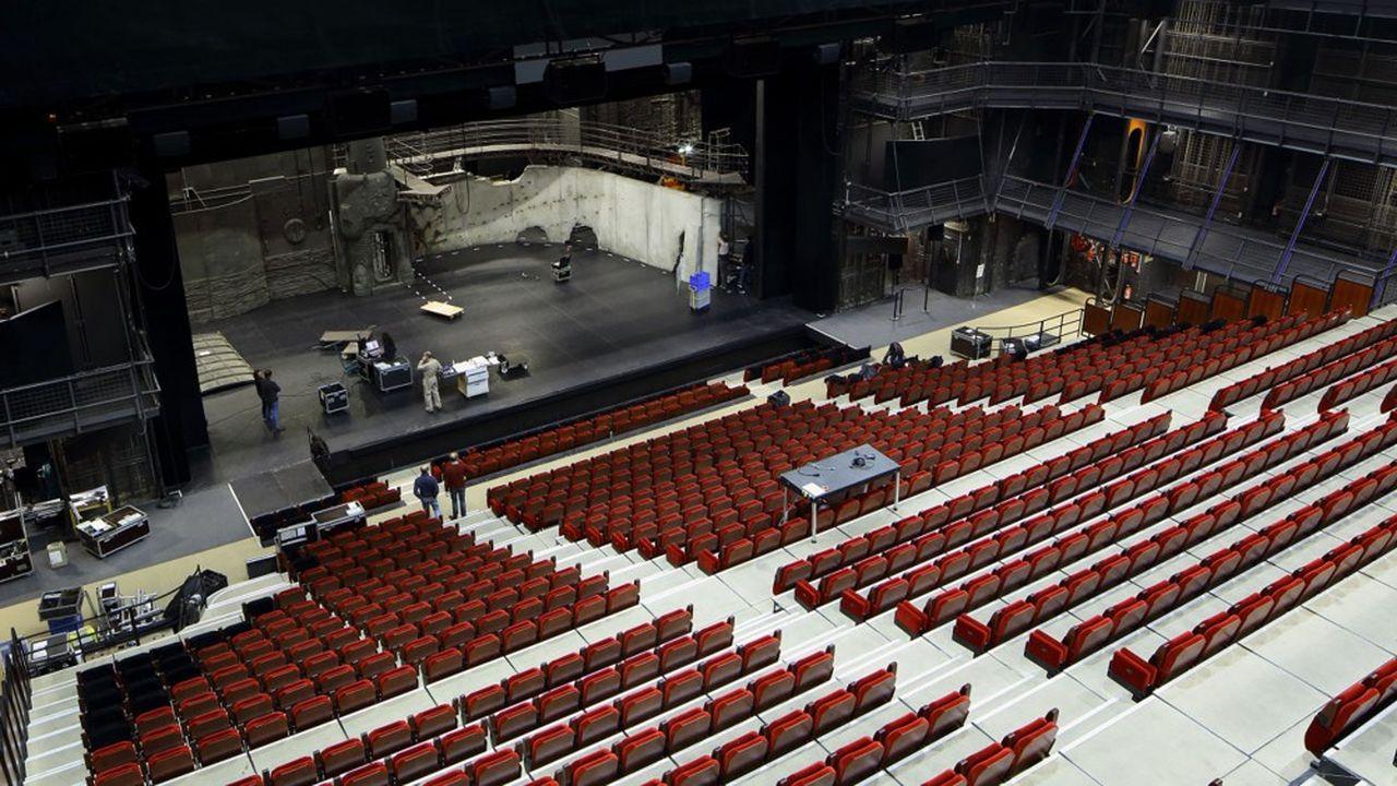 Le Théâtre national de Chaillot fête ses 100 ans et devrait commencer la rénovation à 30millions de la Salle Jean Vilar.