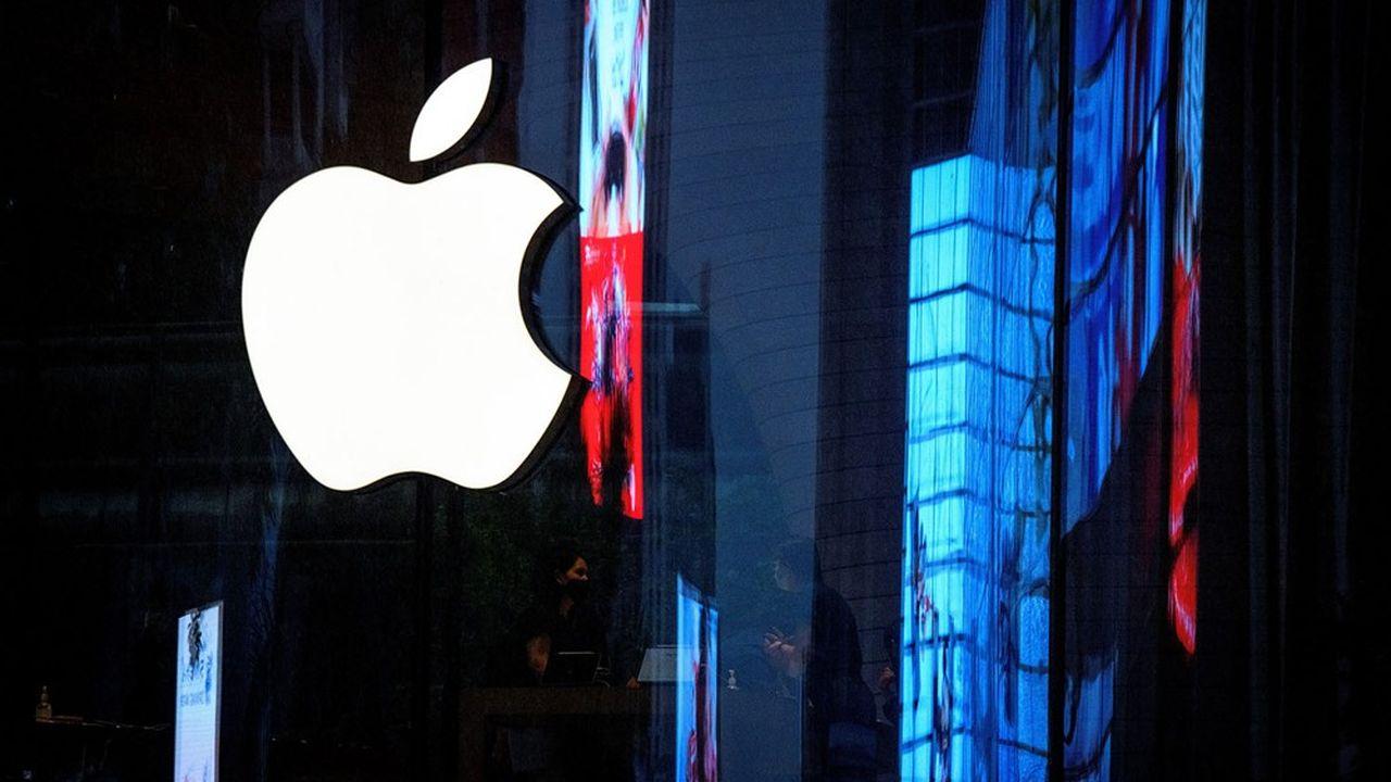 Apple vaut aujourd'hui plus de 2.000milliards de dollars enBourse.