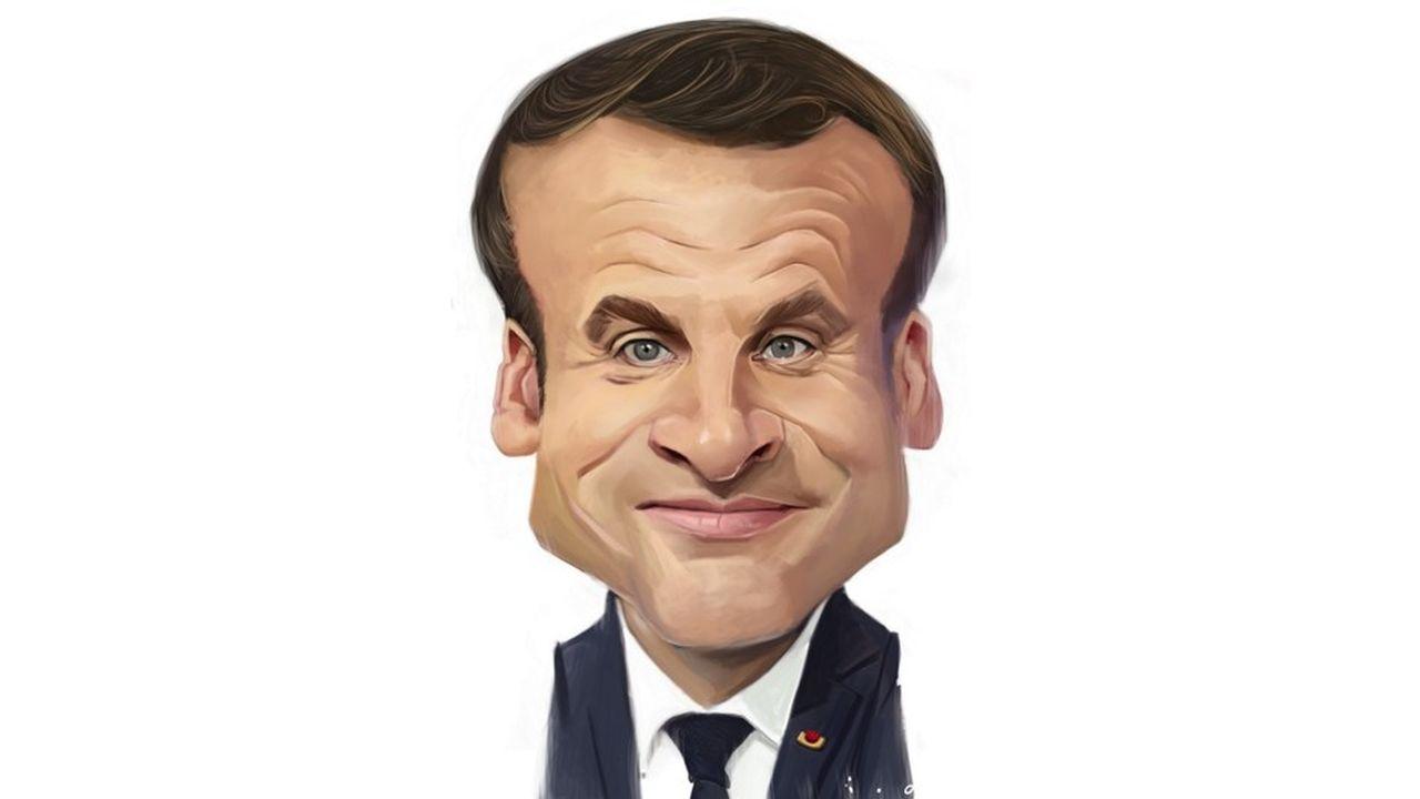 Caricature par ïoO, pour «Les Echos».