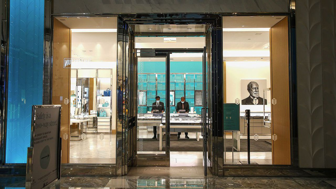 LVMH pourrait finalement croquer les diamants Tiffany, avec un prix ajusté entre 400 à 500millions de dollars