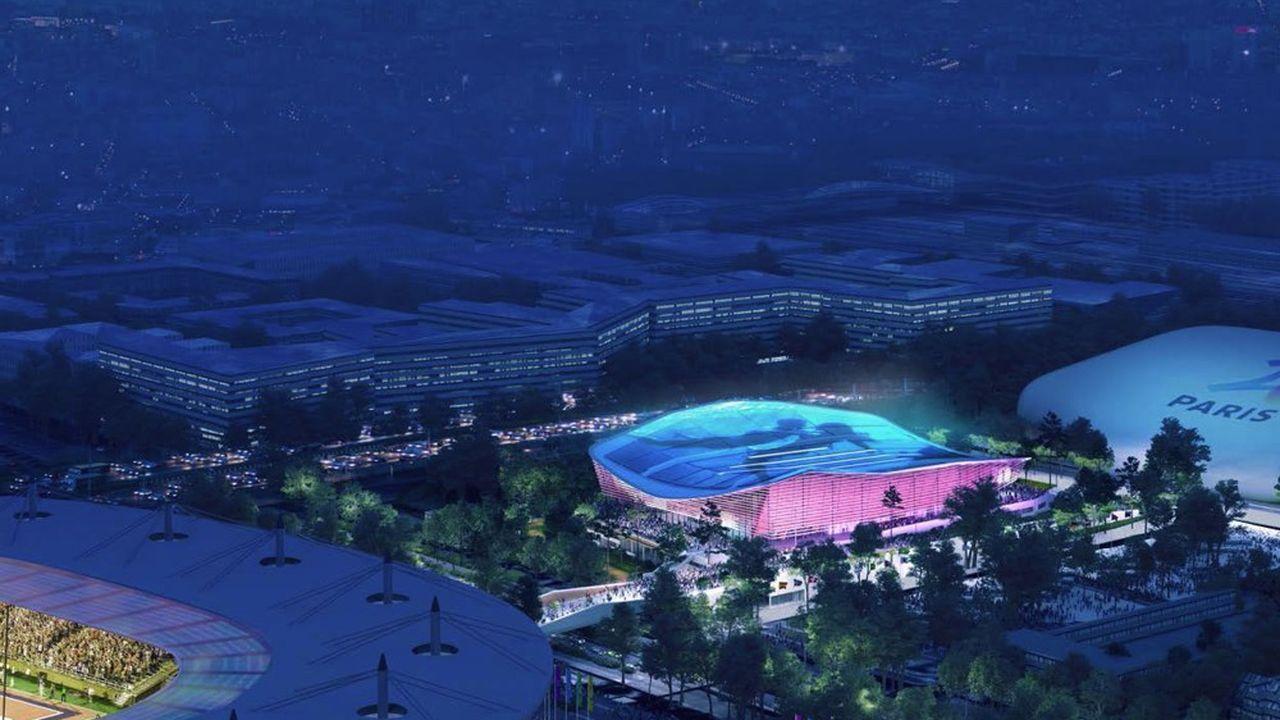 Le centre aquatique prévu pour les J.O.