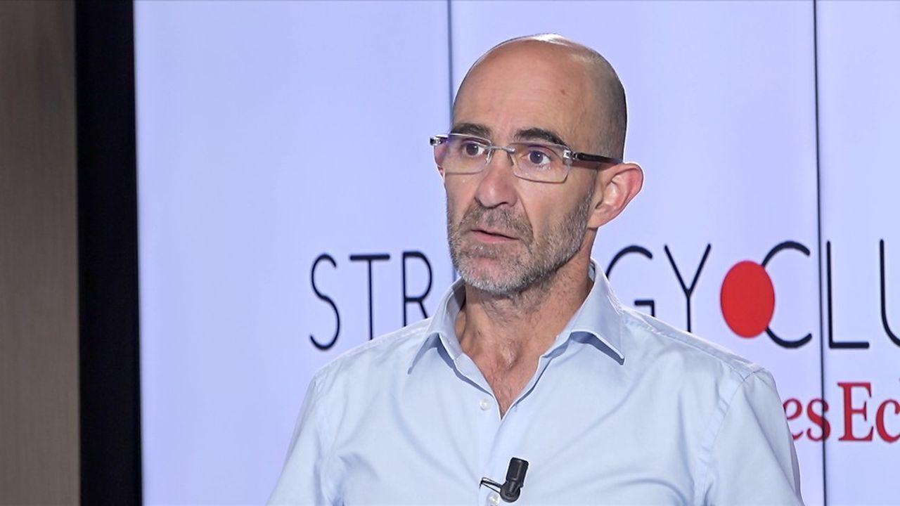 Sylvain Couthier, président du Groupe ATF.